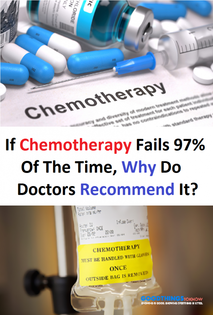 If Chemotherapy Fails 97% Of The Time, Why Do Doctors Recommend It?