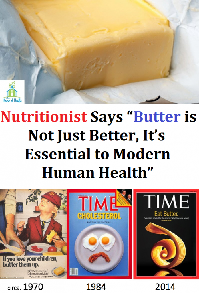 "Nutritionist Says ""Butter is Not Just Better, It's Essential to Modern Human Health"""